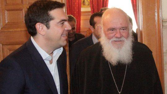 Η ΄΄αλληλογραφία΄΄ Αρχιεπισκόπου-Τσίπρα για Μακεδονικό