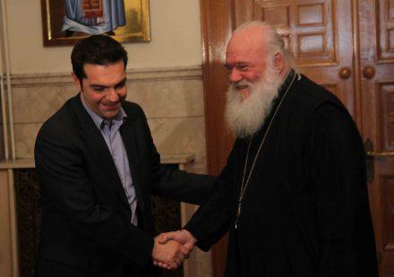 Κοινό μέτωπο Αρχιεπισκόπου-Τσίπρα: Όχι στο συλλαλητήριο για Σκοπιανό