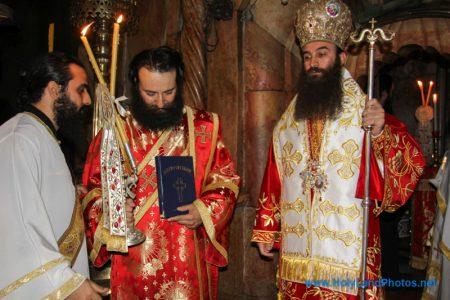 Καθαιρέθηκε ο Ιεροδιάκονος Αγάπιος από το Πατριαρχείο Ιεροσολύμων