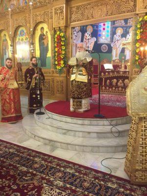 Πλήθος πιστών στα Ονομαστήρια του Δημητριάδος Ιγνατίου