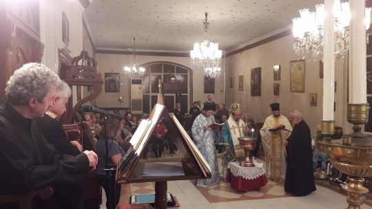Θεοφάνεια 2018: Ο Μεγάλος Αγιασμός στο Γηροκομειακό Ναό Βαλουκλή
