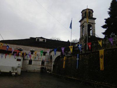 Μετεώρων Θεόκλητος και πλήθος πιστών στα ονομαστήρια του Μητροπολίτου Μαξίμου
