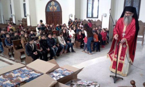 Λατάκια: Κίνηση Αγάπης σε Ορθόδοξα Συρόπουλα από Μόσχα