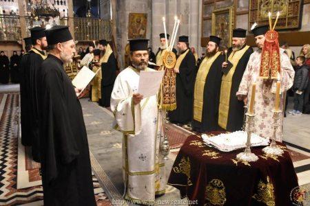 Το Ετήσιο Μνημόσυνο των Αγιοταφιτών Πατέρων