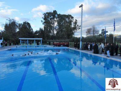 Μητρόπολη Σπάρτης: Αγιασμός των Υδάτων στο Ματάλειο Δημοτικό Κολυμβητήριο