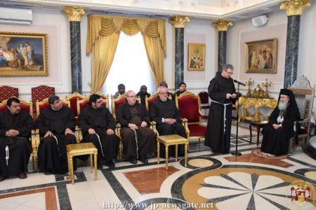 Ιεροσόλυμα: Οι επισκέψεις των Χριστιανικών Εκκλησιών για τα Χριστούγεννα