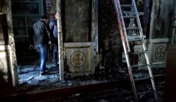 Ανείπωτη καταστροφή στον Ιερό Ναό Αγίας Παρασκευής Πραμάντων