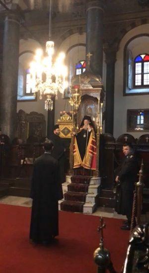 Πατριαρχική χοροστασία για τον Άγιο Γρηγόριο-Τα Ιερά Λείψανα του Αγίου στον Πατριαρχικό Ναό
