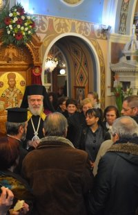 Τριών Ιεραρχών: Μέγας Εόρτιος Εσπερινός στην Τήνο