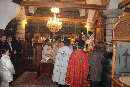 Μητρόπολη Θεσσαλιώτιδος: Η εορτή της συνάξεως του Αγίου Ιωάννου του Προδρόμου