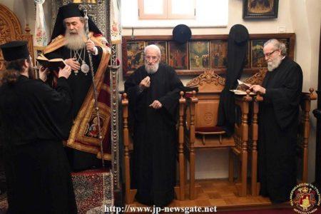 Η Εορτή της Συνάξεως της Θεοτόκου στο Πατριαρχείο Ιεροσολύμων