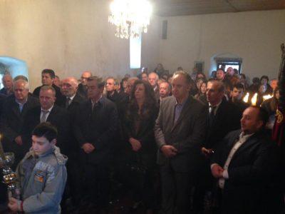 Άγιος Ευθύμιος: Εκατοντάδες πιστοί και σήμερα στο Βυζαντινό εκκλησάκι Κωνωπίνας