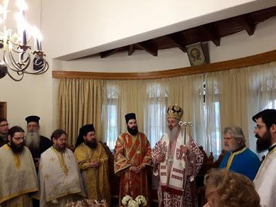 Στην Μονή Αγίου Ιωάννου Θεολόγου Αετοχωρίου ο Αλεξανδρουπόλεως Άνθιμος