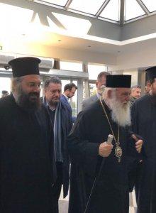 Τον π. Τρίκκης Αλέξιο επισκέφθηκε ο Αρχιεπίσκοπος