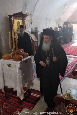 Λαμπρή Εορτή του Αγίου Μοδέστου στο Πατριαρχείο Ιεροσολύμων