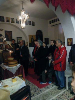 Τιμήθηκε η μνήμη του Αγίου Νικηφόρου του Λεπρού στην Εύβοια
