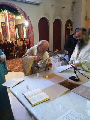 Εγκαίνια Ιερού Ναού από Αιτωλίας Κοσμά