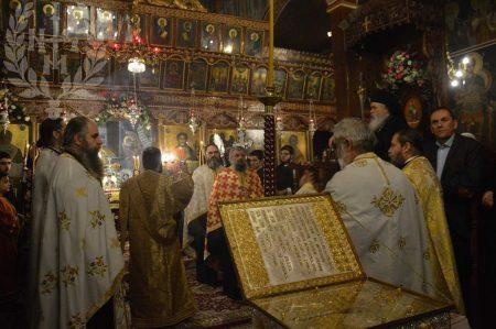 Εορτή του Αγίου Αθανασίου στο Παλαιόκαστρο