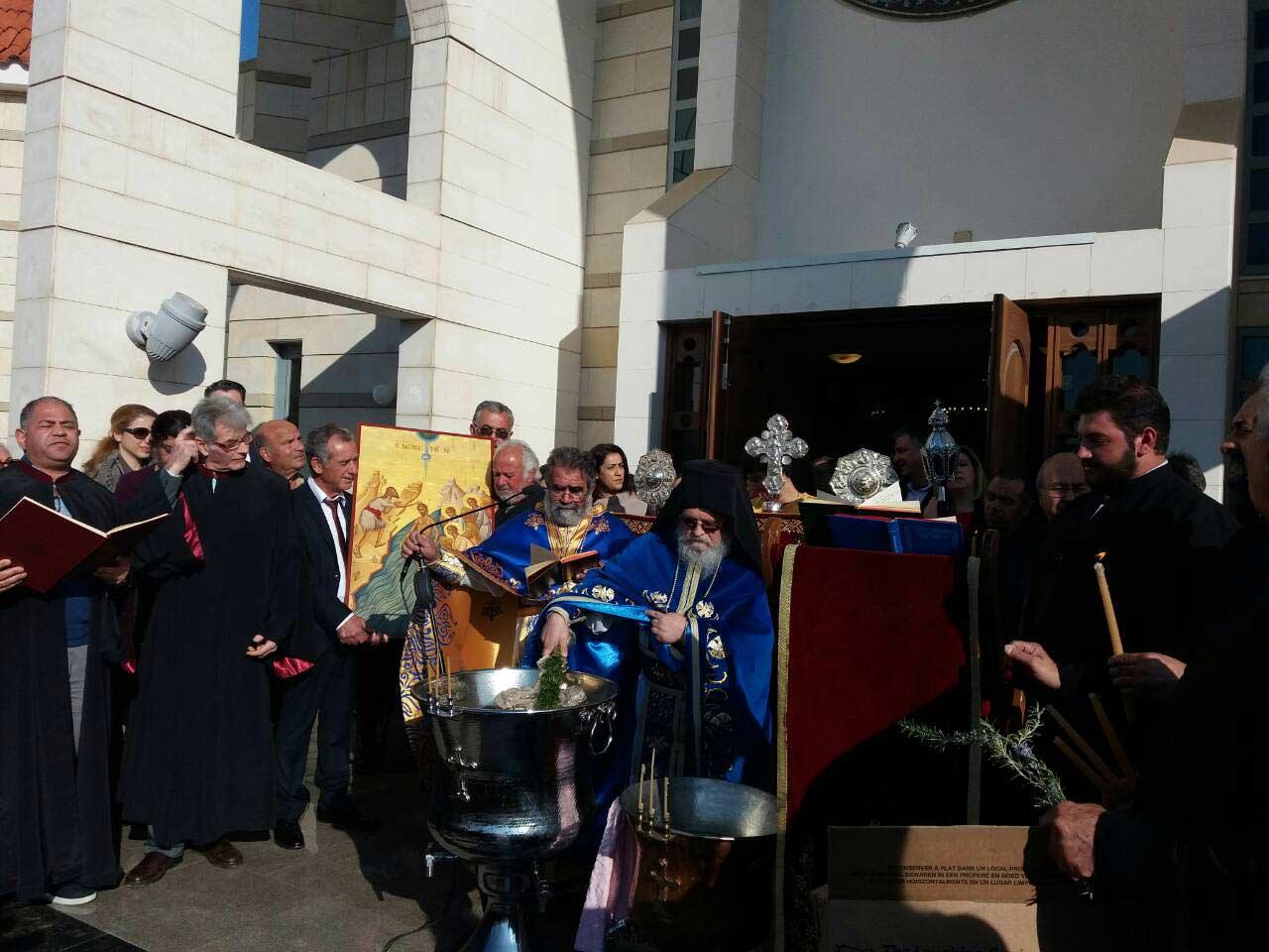 εορτασμός Θεοφανείων κωμόπολη Τσερίου
