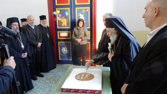 Πλήθος πιστών στην Εορτή των Τριών Ιεραρχών στη Λέρο