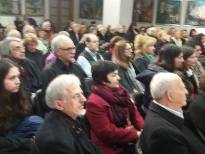 Πλήθος κόσμου στην εκδήλωση της Εστίας Πατερικών Μελετών