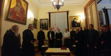 Συνάντηση του Αρχιεπισκόπου Κύπρου με το προσωπικό της Μητροπόλεως Ηλείας