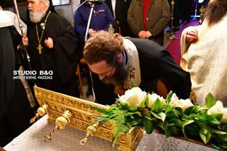 Η Νέα Κίος υποδέχθηκε το Ιερό Λείψανο του Αγίου Νικηφόρου του Λεπρού