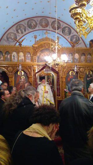 Κοσμοπλημμύρα στην Κάλυμνο για τον Άγιο Γρηγόριο το Θεολόγο