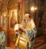 Ο Μετεώρων Θεόκλητος στον Ιερό Ναό Πέτρου και Παύλου Καστρακίου