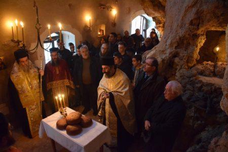 Η Εορτή του Αγίου Μακαρίου του Αιγυπτίου στο ομώνυμο σπήλαιο