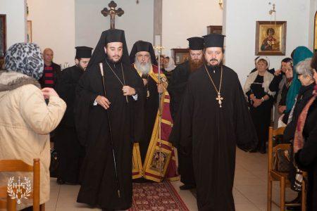 Ο Νεαπόλεως Βαρνάβας στον Ιερό Ναό Αγίου Σεραφείμ του Σάρωφ Ευκαρπίας