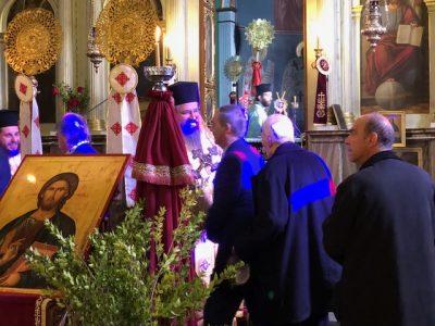 Πρωτοχρονιά 2018 στον Ιερό Μητροπολιτικό Ναό Ευαγγελιστρίας Λευκάδος