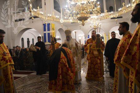 Πρωτοχρονία 2018: Στον Καθεδρικό Ναό Τιμίου Προδρόμου ο Νεαπόλεως Βαρνάβας