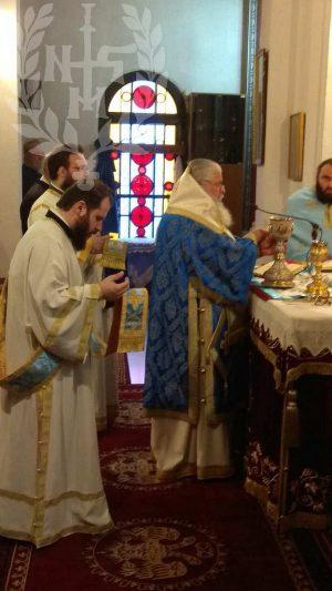 Αρχιερατική Θεία Λειτουργία στον Ιερό Ναό Αγίου Βασιλείου Συκεών