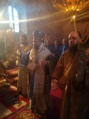 Λιβάδι Καρυάς: Θεία Λειτουργία στην Μονή Αγίου Ιωάννου Προδρόμου