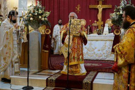Ιερά Πανήγυρις Ι.Ν.Αγίων Τριών Ιεραρχών Ευόσμου