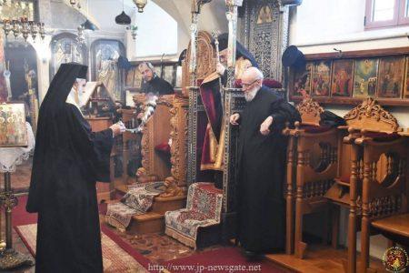 Ακολουθία των Ωρών των Χριστουγέννων στο Πατριαρχείο Ιεροσολύμων