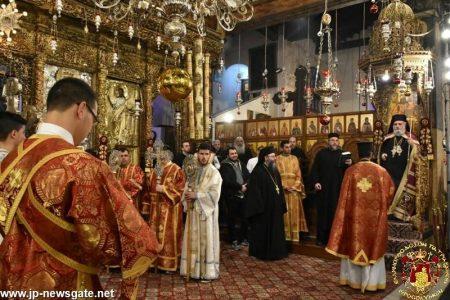 Κοσμοπλημμύρα στο Πατριαρχείο Ιεροσολύμων για την Εορτή των Χριστουγέννων