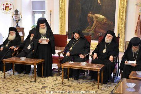 Η Εόρτιος επίσκεψη του Ιεροσολύμων Θεοφίλου στους Αρμένιους