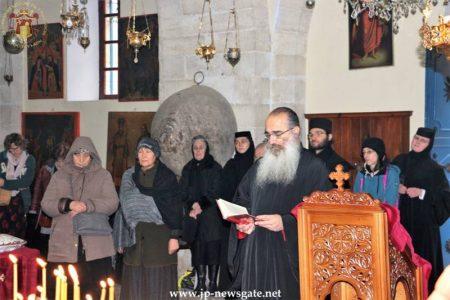 Η προσκύνηση της Τιμίας Αλυσίδας του Αποστόλου Πέτρου στο Πατριαρχείο Ιεροσολύμων