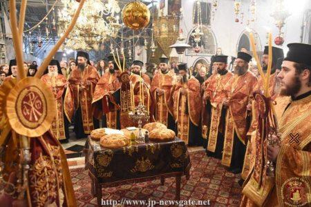 Παραμονή Χριστουγέννων στο Πατριαρχείο Ιεροσολύμων