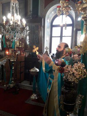 Σύρος: Με λαμπρότητα τιμήθηκε ο Άγιος Ιωάννης ο Πρόδρομος στο Ναό Προφήτη Ηλία