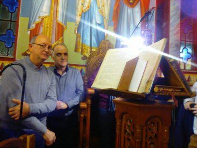 Τρίκαλα: Πλήθος κόσμου στον Άγιο Αθανάσιο Μπάρας