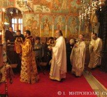 Σύμη: Συγκίνηση στο εννεαήμερο Μνημόσυνο Σύμης Χρυσοστόμου