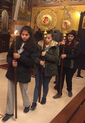 Πανηγυρικός Εσπερινός Τριών Ιεραρχών στο Λίβανο