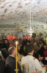 Ερμούπολη: Ο Ερχομός του νέου Έτους στην Κρύπτη του Αγίου Δωροθέου
