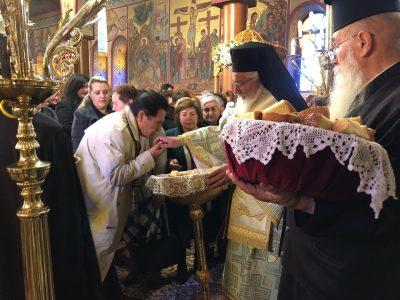Εορτή του Αγίου Αθανασίου στη Μητρόπολη Θηβών