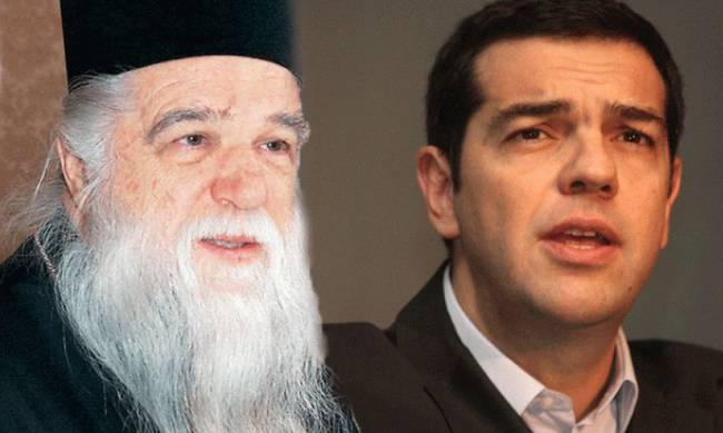 Αμβρόσιος: «Ο κ. Τσίπρας να πάψει να παριστάνει τον άθεο»