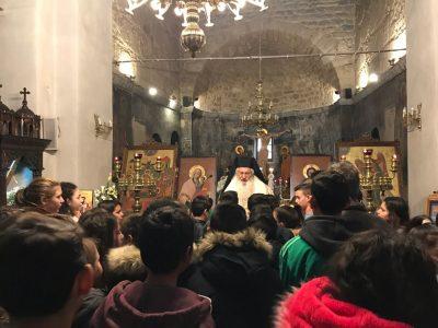 Η Εορτή των Τριών Ιεραρχών στον Ιερό Ναό Παναγίας Σκριπούς