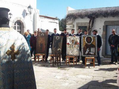 Συγκινητικά στιγμιότυπα-Κυριακή της Ορθοδοξίας στο Οικοτροφείο της Πατμιάδος